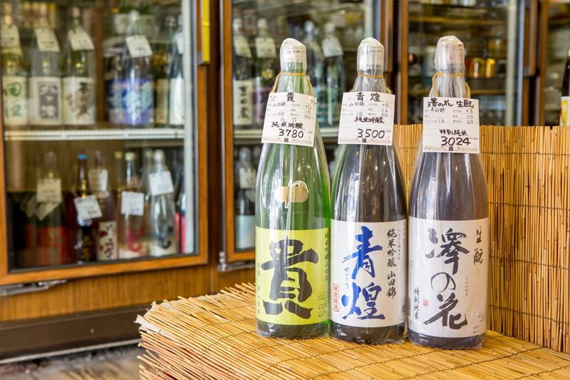 おすすめの日本酒の写真