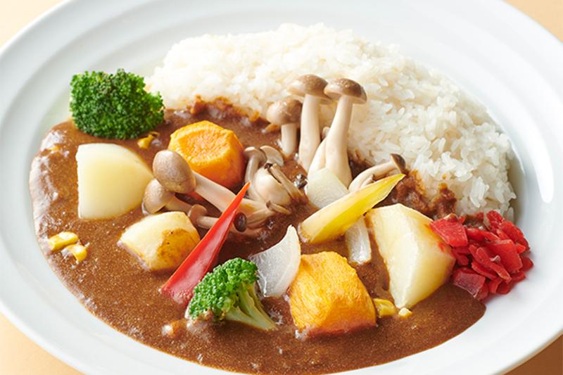 空知野菜のカレーライス