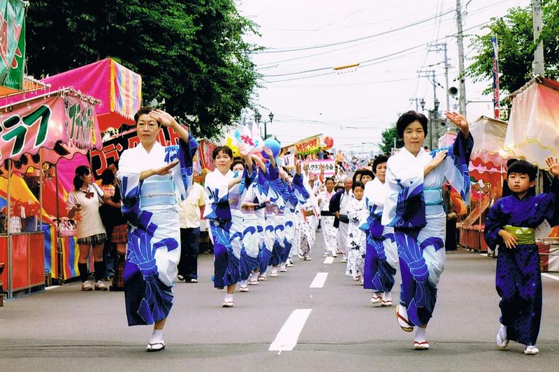 砂川音頭保存会踊りの写真