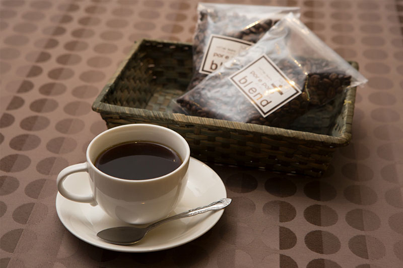 ポレポレブレンドコーヒーの写真