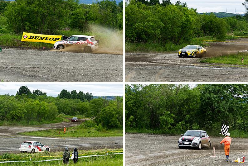 レース中写真